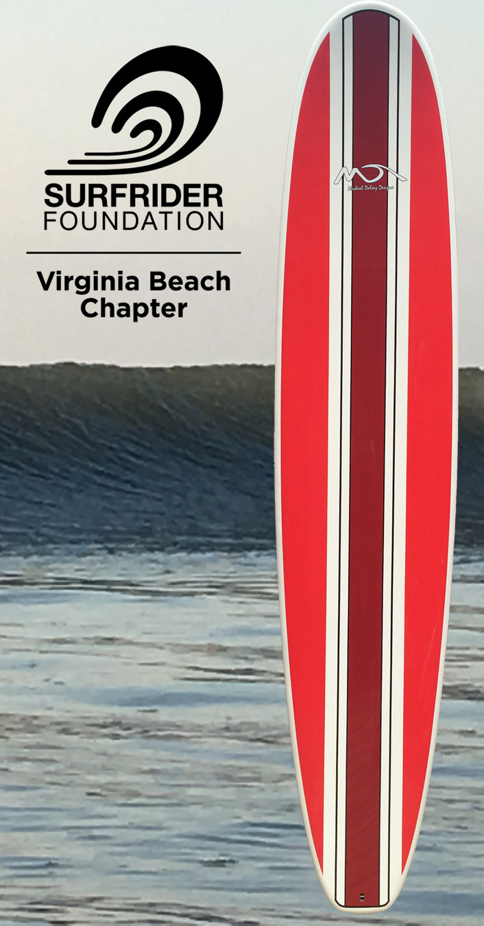 """Win this 9'0"""" Michael Dolsey Designs Board"""