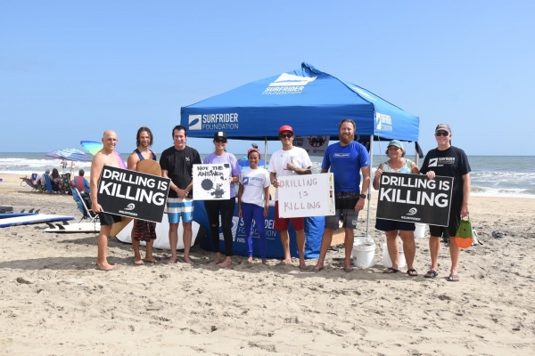 Protect Our Coast Paddle Out